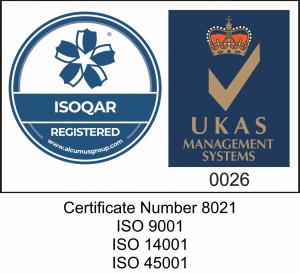 ISO Accreditation Logo